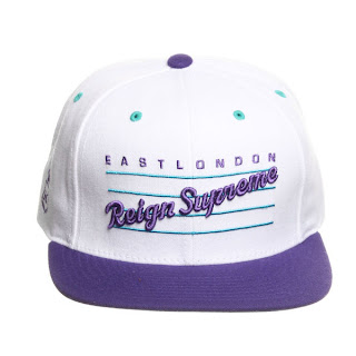 King Apparel white purple
