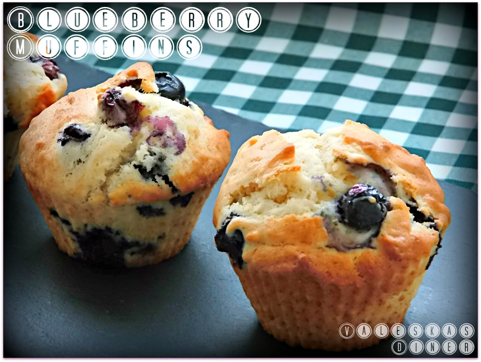 valeska 39 s diner blueberry muffins. Black Bedroom Furniture Sets. Home Design Ideas