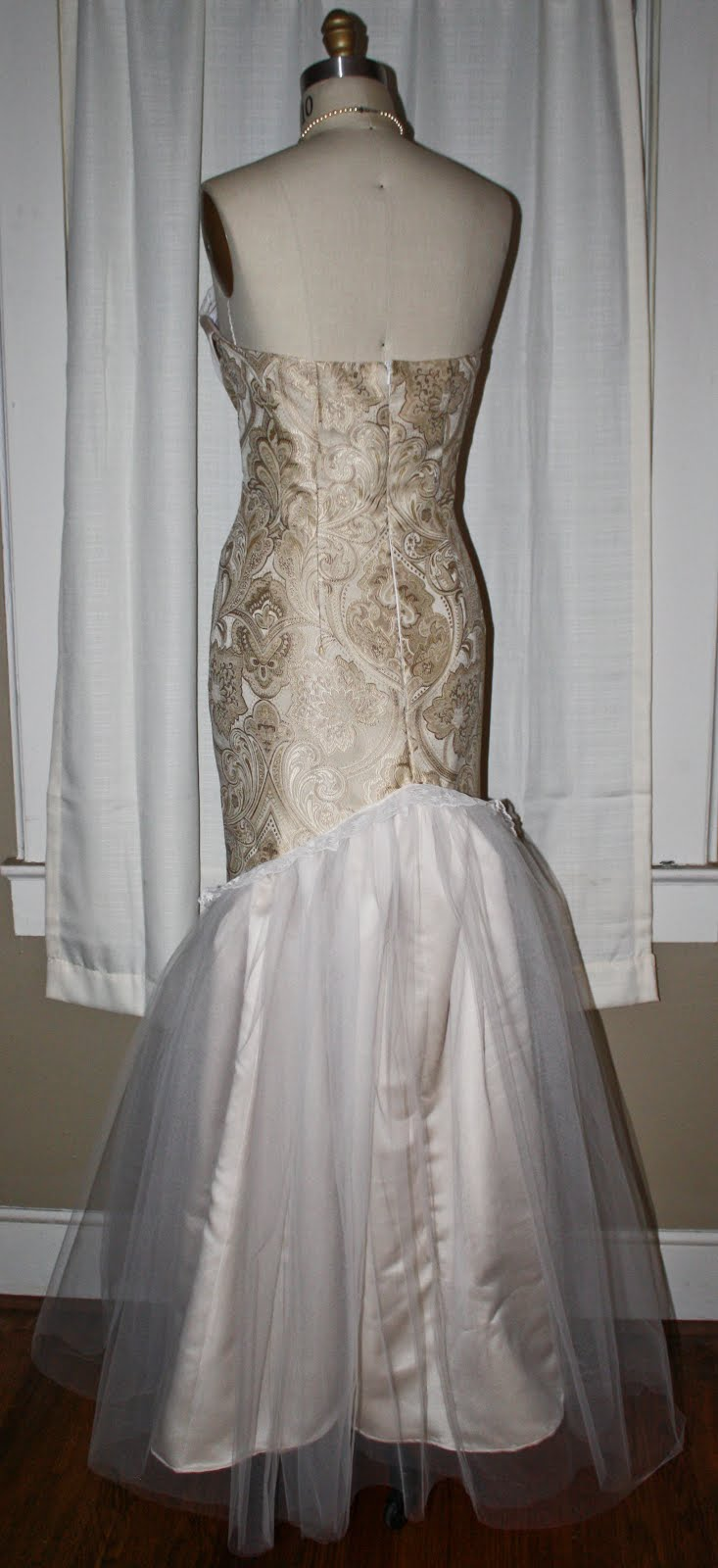 Brocade Wedding Dresses