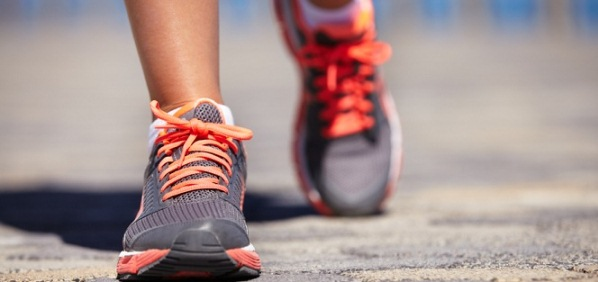 Lose weight by walking 4 miles a day