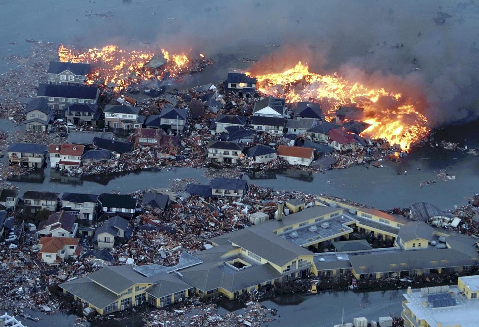 japan tsunami and radiation