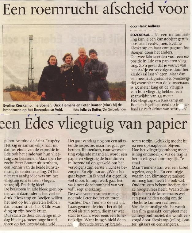 De Gelderlander 17 januari