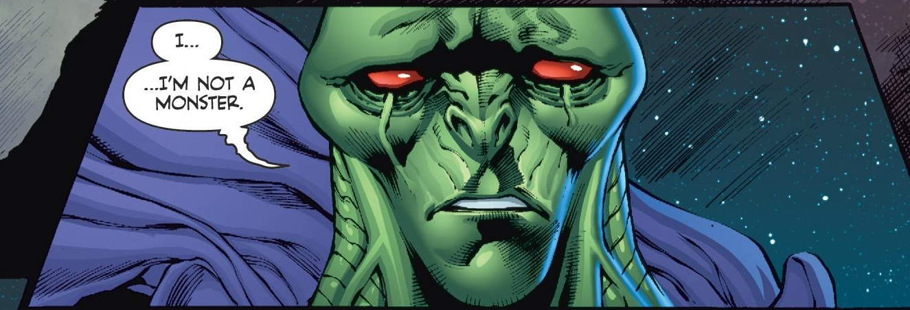 Weird Science DC Comics: Martian Manhunter #6 Review and *SPOILERS*
