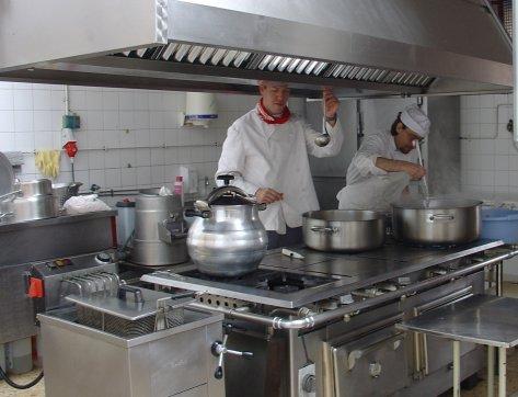 Normas de seguridad y higiene de la cocina y distintivo h for Manual de procedimientos de cocina en un restaurante