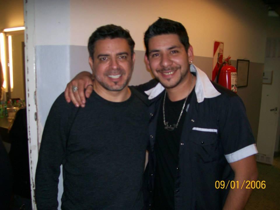 Junto a Luis Enrique