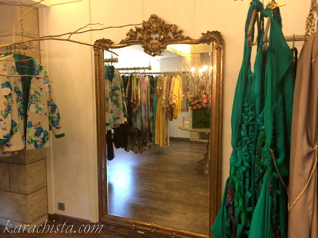 The store - Umaima Mustafa Store Karachi - Pakistani fashion designer launches chic retail outlet