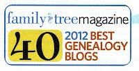 Named Top International Genealogy Blog