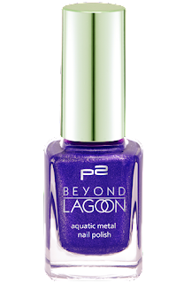p2 Limited Edition: Beyond Lagoon - aquatic metal nail polish - www.annitschkasblog.de