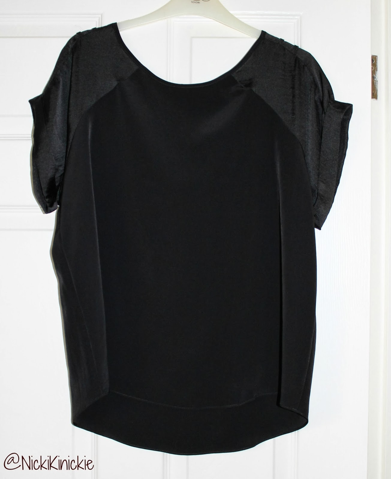 River Island, Sheer, Top, Exposed Zip