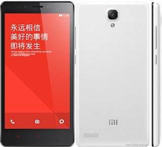 HP Android Xiaomi Redmi Note