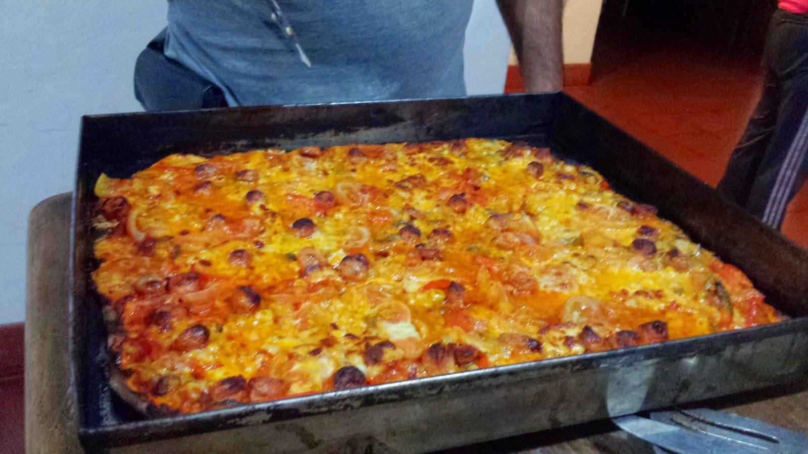 COCINA FÁCIL PARA FLOJOS: PIZZA CASERA PASO A PASO... DE DOMINGO