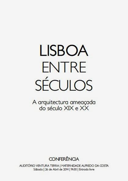 Livrete da I Conferência «Lisboa Entre Séculos»