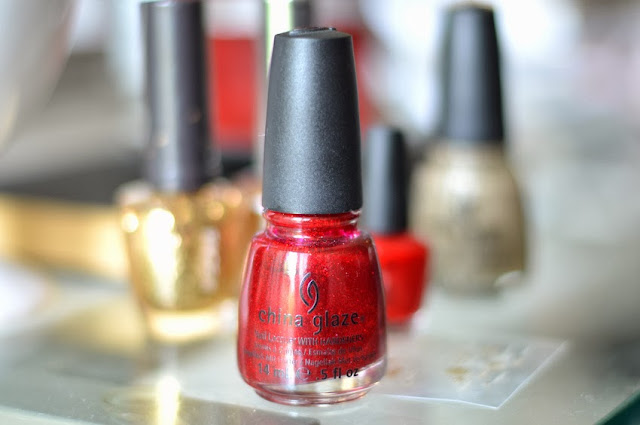 Ruby Pumps China Glaze Nail Polish Red