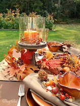 Backyard Fall Luncheon