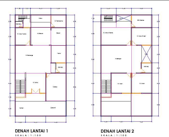 Apakah anda sedang mencari rujukan Desain Denah Rumah Minimalis Modern Contoh Desain Denah Rumah Minimalis Modern