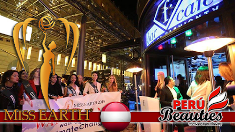 Welcome Party at Fashion TV Cafe Vienna - Miss Earth 2015