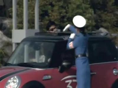 北韓交通女警