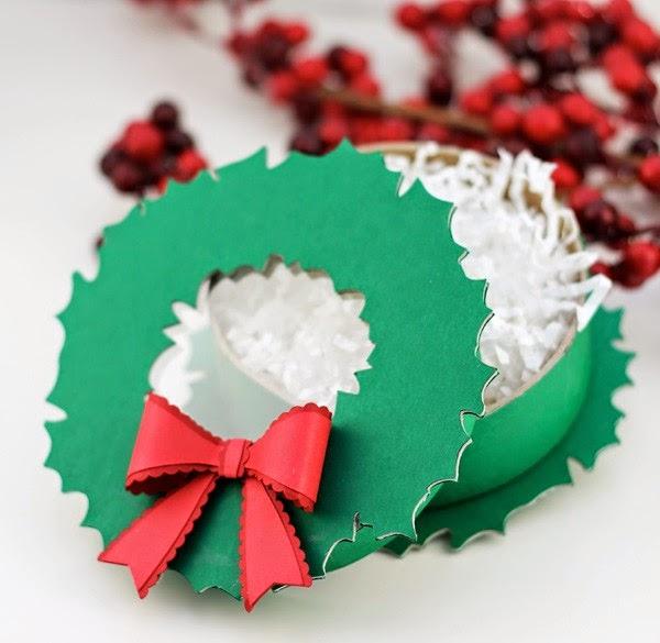 C mo hacer cajas de navidad con cart n mimundomanual - Cajas de carton de navidad ...