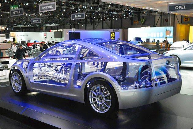 Subaru RWD Sports Car Concept