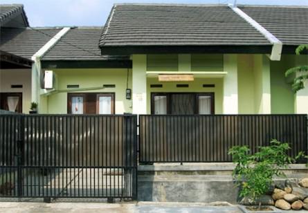 cat rumah minimalis on 10 INSPIRASI PAGAR BESI MINIMALIS 2012 | di Rumah Minimalis