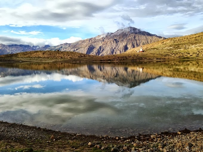 Dhankar Lake, Spiti valley