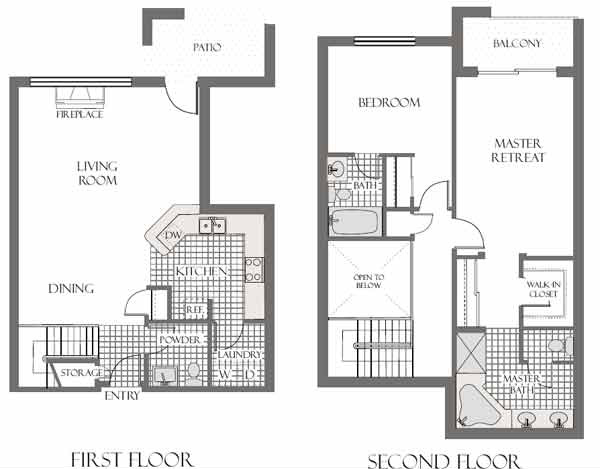 Tapestry on central mid town phoenix az for Holiday home builders floor plans