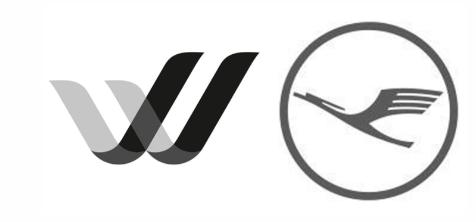 Blacked logos of Germanwings and Lufthansa