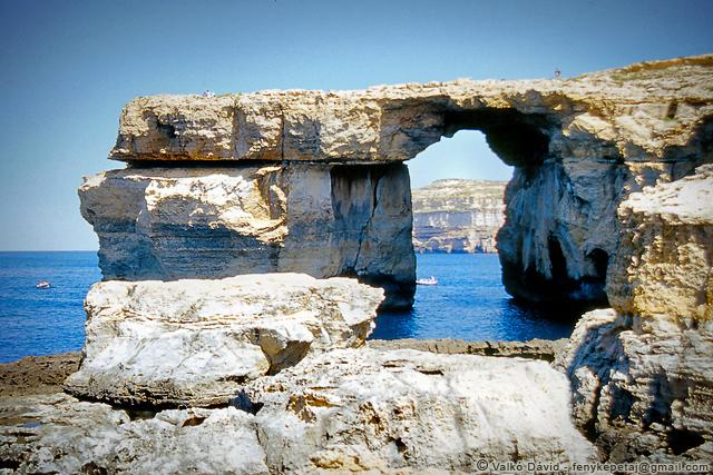 Azúr Ablak, Dwejra, Gozo, Málta