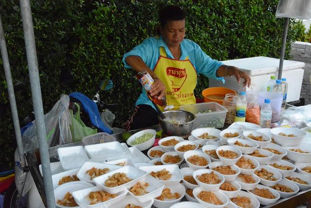 Wat Puttamongkon temple Phuket Town rice