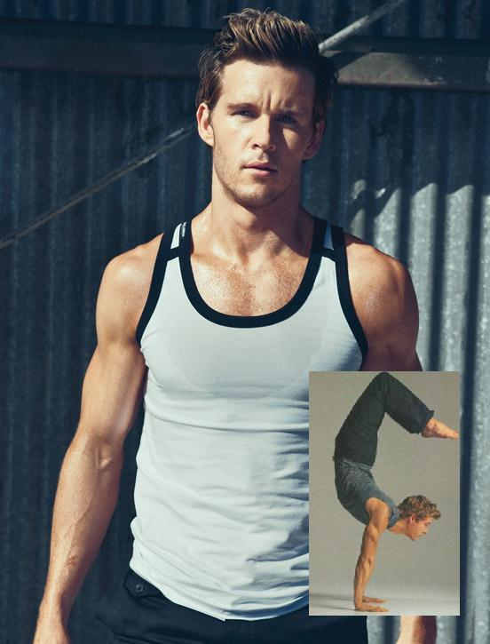 Ryan Kwanten Yoga