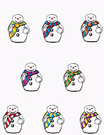 Free Snowman Game and Writing Practice