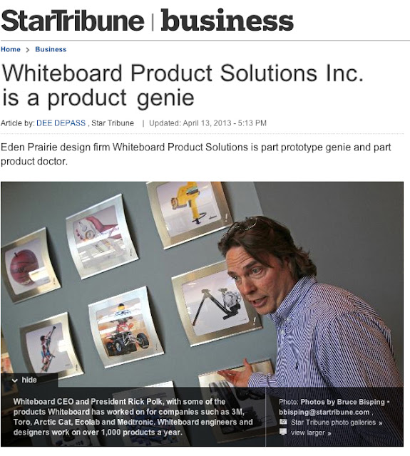 WhiteBoard Product Solutions Inc. is a product genie
