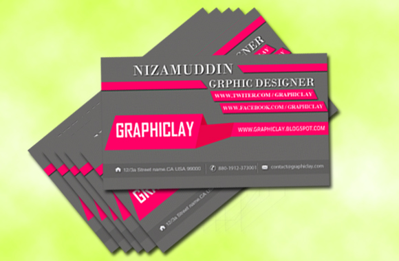 New stylish business card free psd file collections graphiclay the four psd files are included card and helptxt all psd files are grouped and layered adobe photoshop cs4 version reheart Image collections