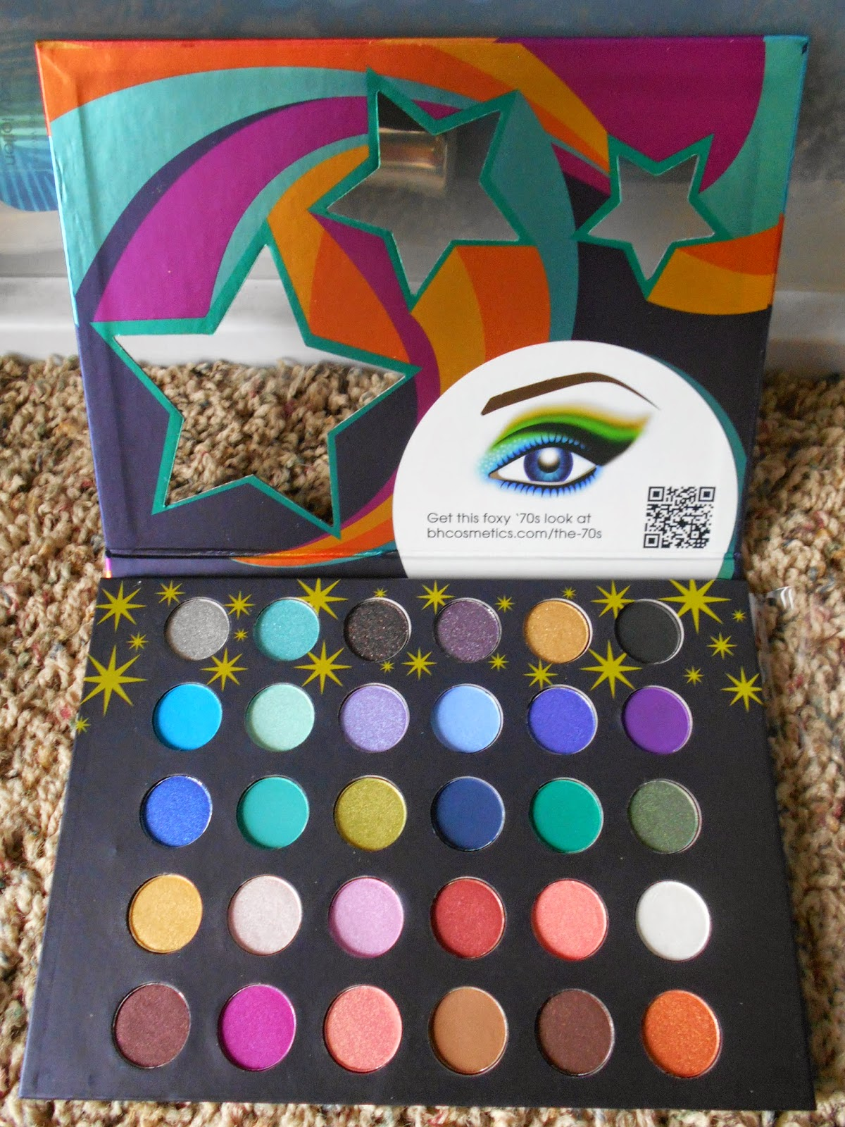 bh Cosmetics Eyes On The 70's Eyeshadow Palette