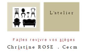 Christine ROSE - artisan tapissier - blog de 2010 à 2012