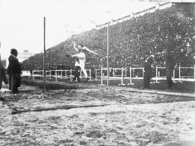 Prueba de atletismo en Atenas 1896