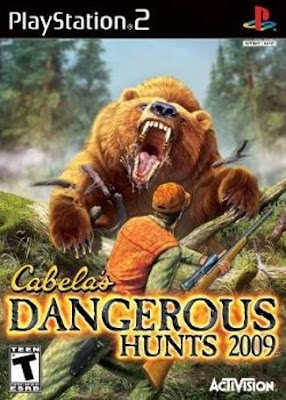 Torrent Super Compactado Cabelas Dangerous Hunts 2009 PS2