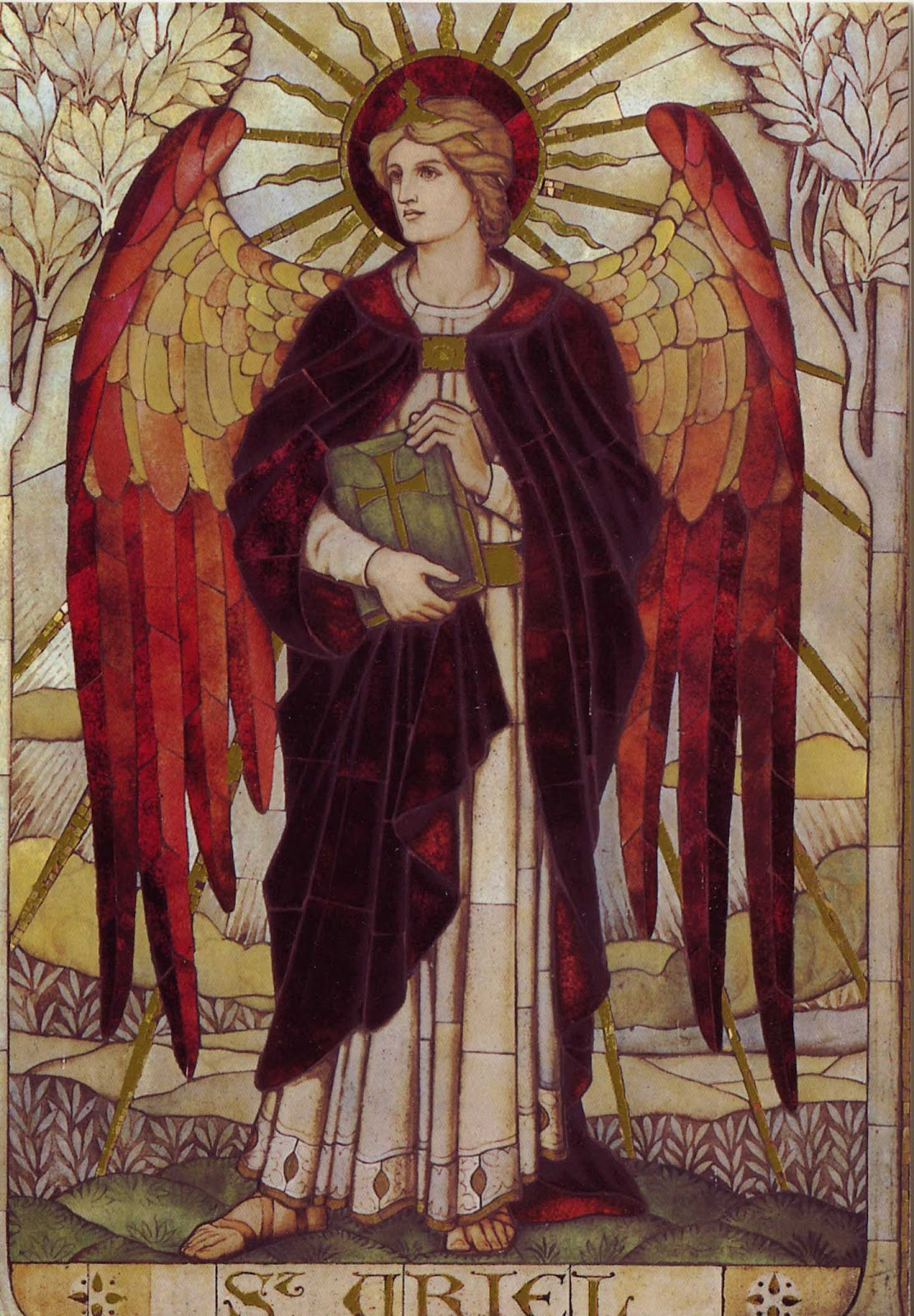 Archangels names and meanings catholic - St Uriel