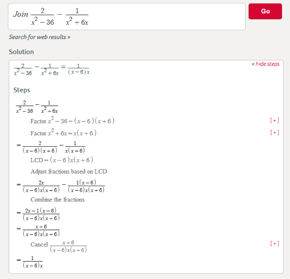 Let's Start By Adding Fractions (click Here):