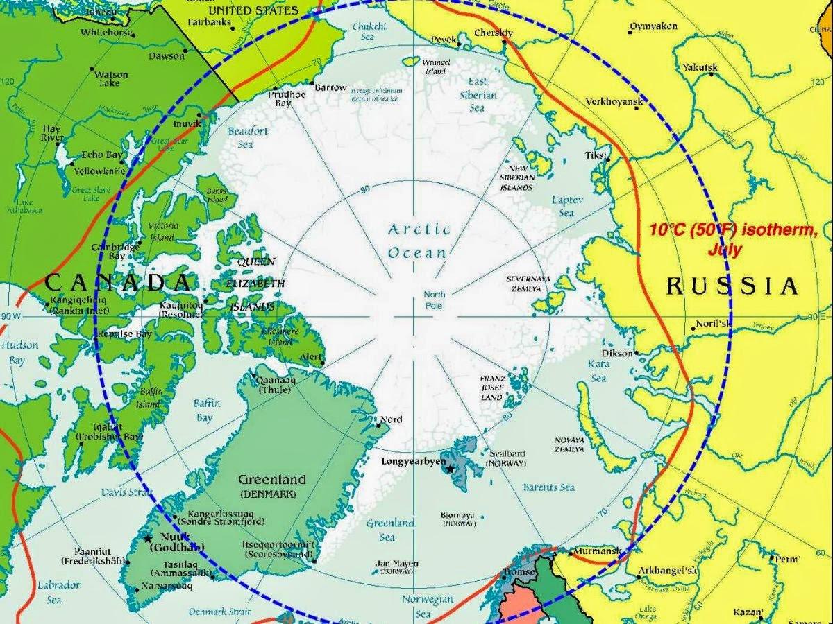Rusia está planeando establecer la sede de su Comando Ártico en una