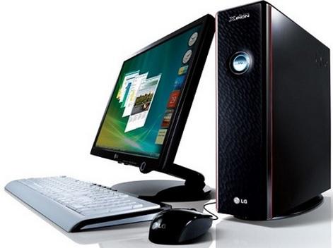 Foto de una computadora de mesa del 2014