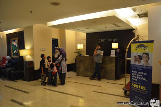Hotel Aston Braga Pilihan Blogger Pelancong Malaysia di Bandung