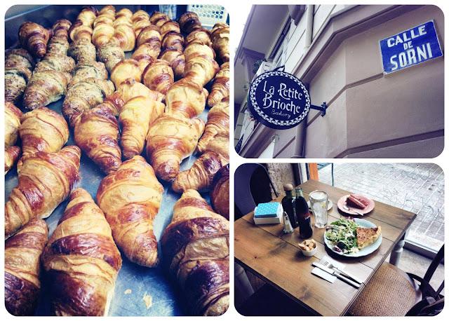 La petite Brioche - Calle de Sorní, 28. Croissants recién horneados, brunch...