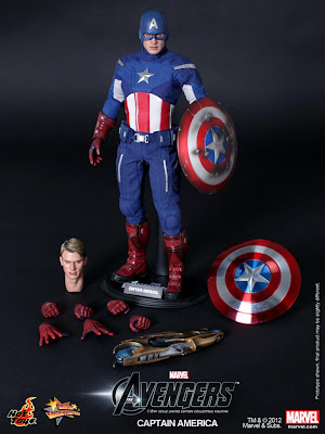 Hot Toys - Avengers Captain America figure
