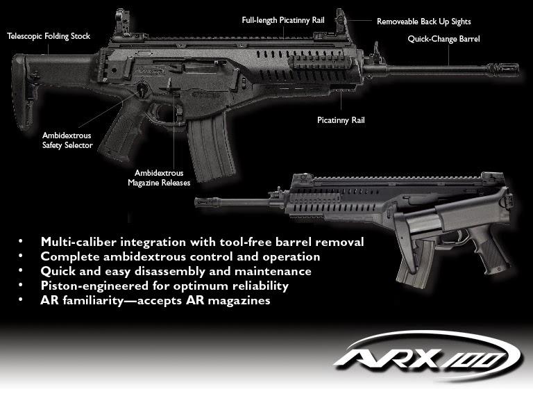 Assault Rifle Beretta ARX100 Italian Future Soldier