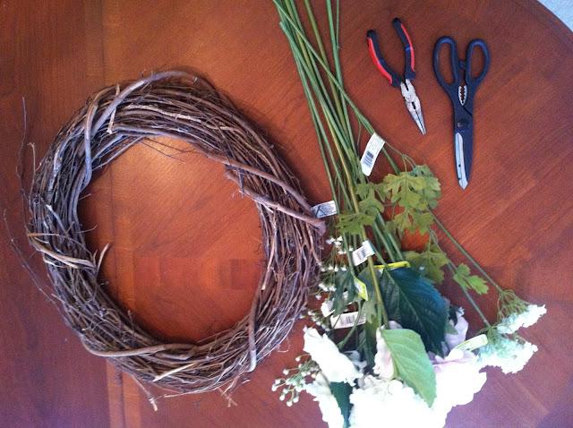DIY: Spring Wreath on Darling Cashmere