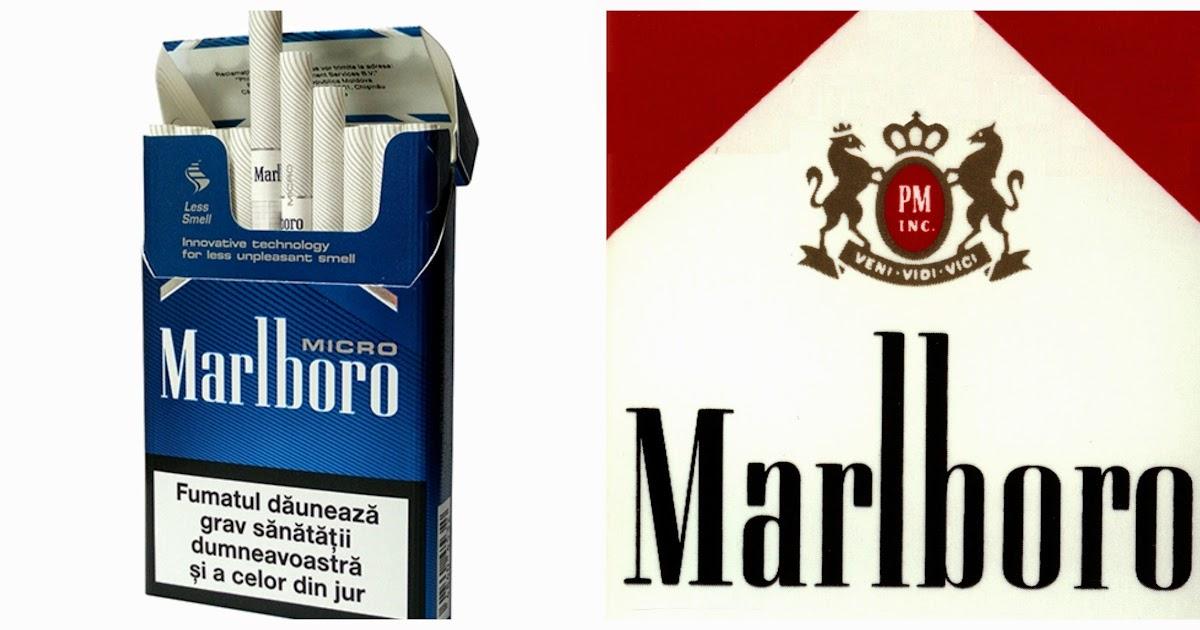 Cigarettes Marlboro shop in USA