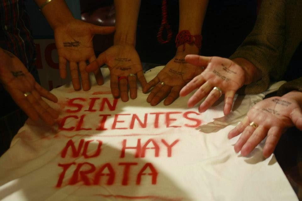 lenocinio y trata de personas escaparates prostitutas holanda