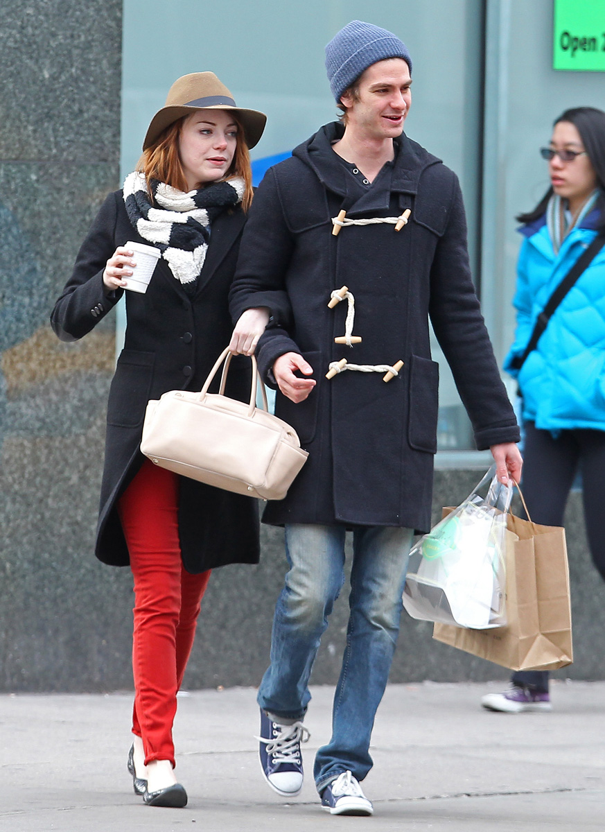 who is andrew garfield dating now Emma stone and andrew garfield reunited at the the exes famously began dating in 2011 after meeting on the set of the amazing want more now follow us.