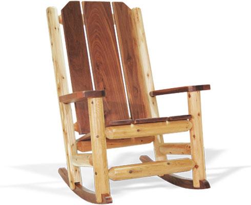 Rocky Top Log Furniture & Railing Blog Memory Making Log